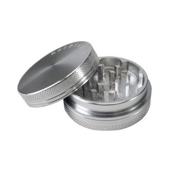 Two-piece compartment weed grinder
